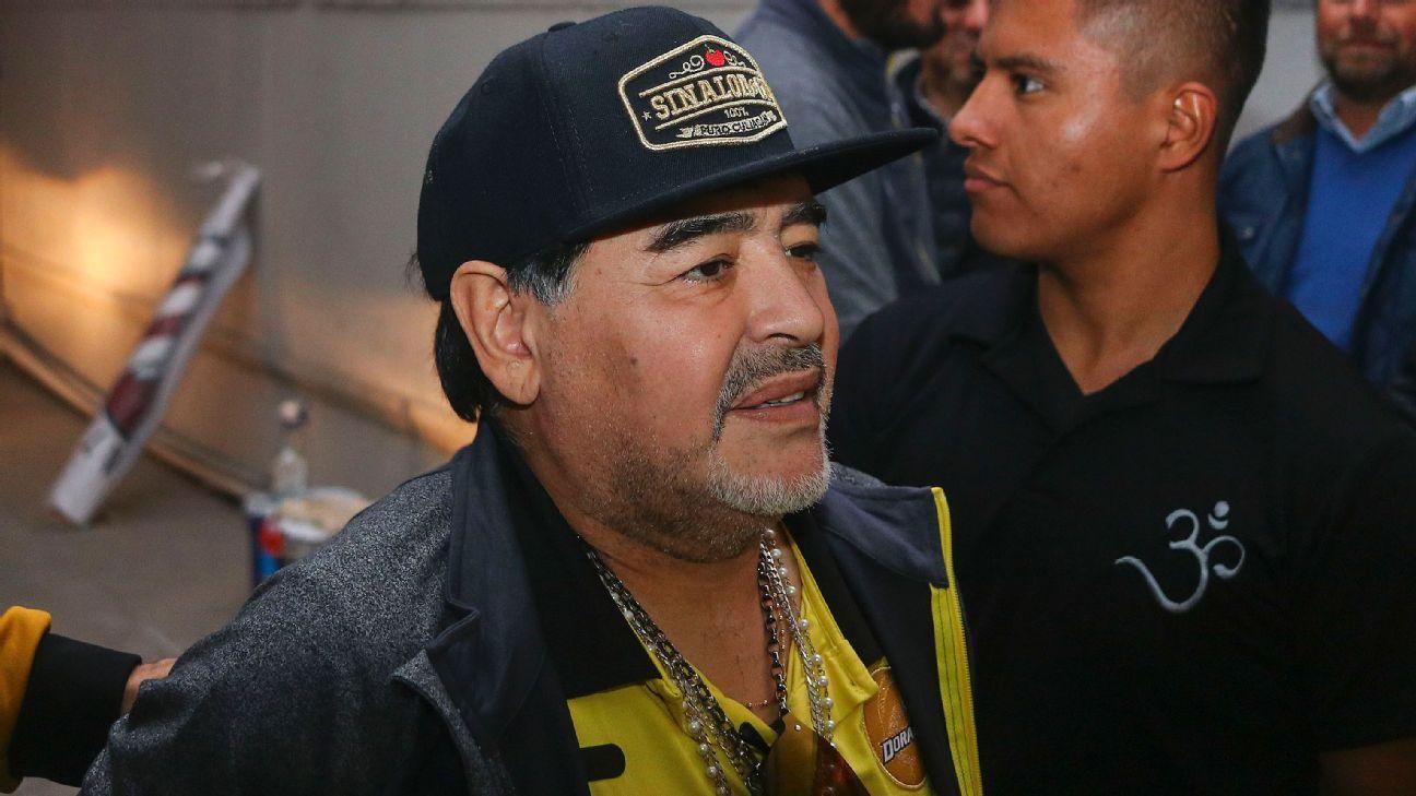 Diego Maradona asegura que volverá a México el miércoles