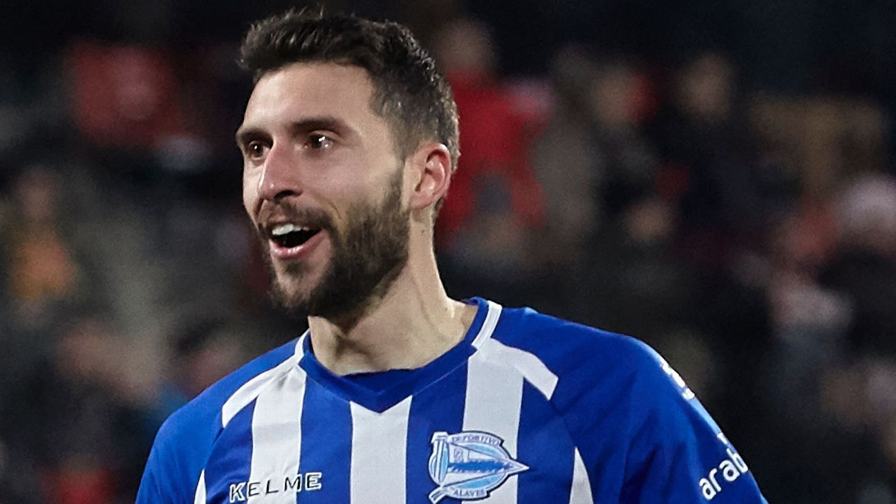 Borja Baston scores late to earn high-flying Alaves point at Girona