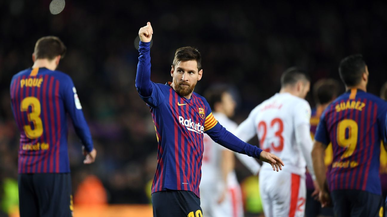 By the Numbers: Lionel Messi tops scoring charts, Ole Gunnar Solskjaer stays unbeaten