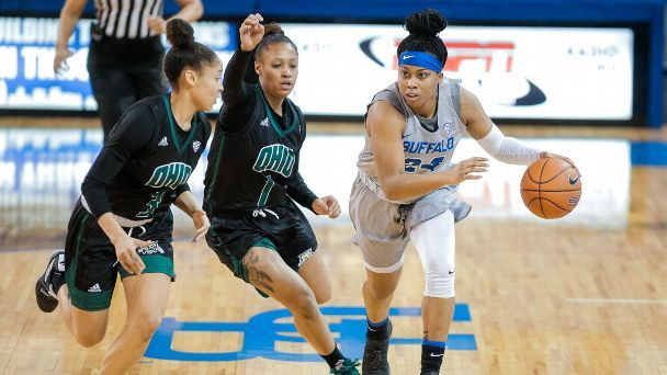 Buffalo's Cierra Dillard is espnW's player of the week