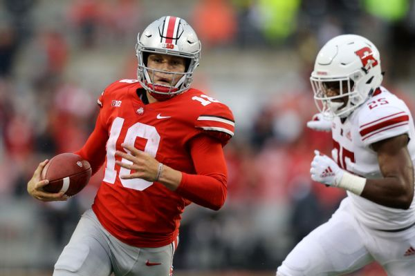 Ex-Ohio State QB Tate Martell says he's transferring to Miami