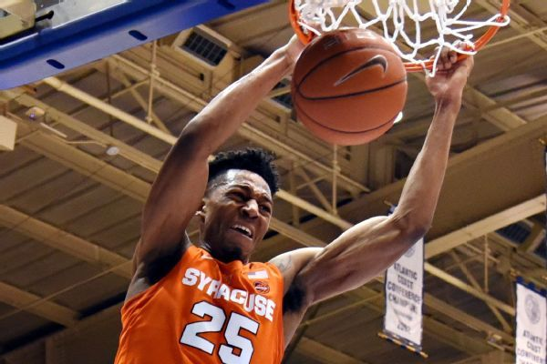 Syracuse fan gives $175K to Boys & Girls Club for upset of No. 1 Duke