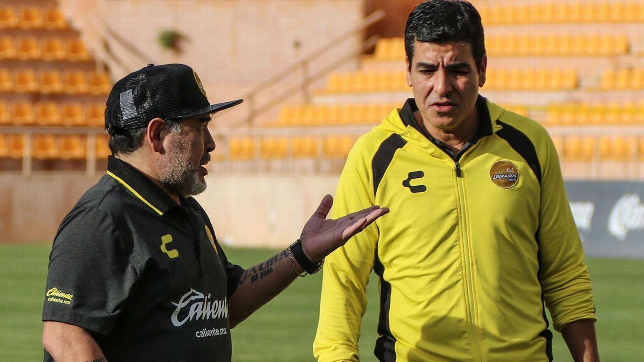 Antonio Núñez confirma que Diego Maradona se pierde la Jornada 3