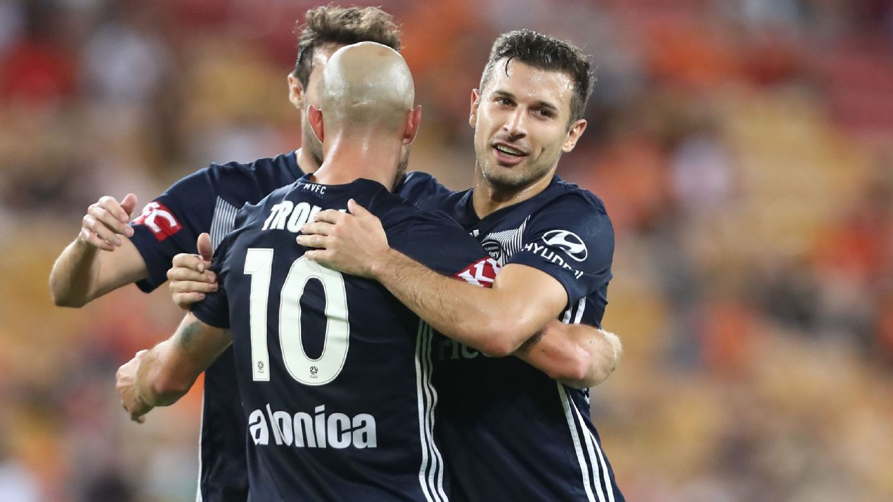 Melbourne Victory hand Brisbane Roar historic A-League loss