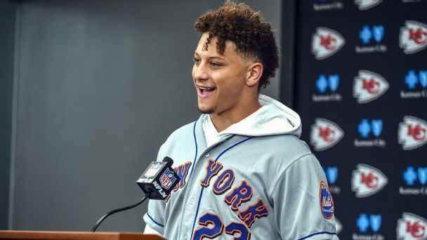 Patrick Mahomes inherited clutch gene from his major league dad