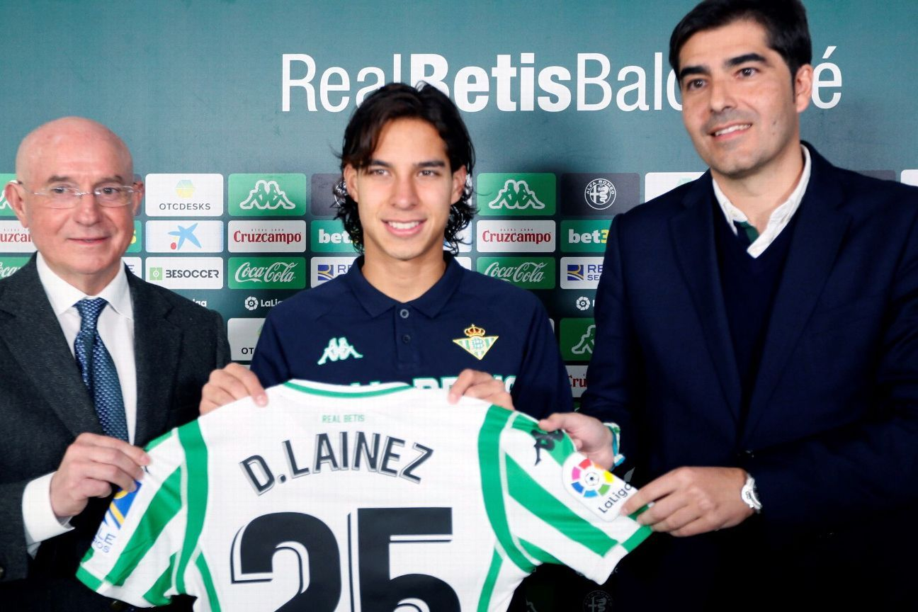 Mexico youngster Diego Lainez: Real Betis was 'best decision' for me