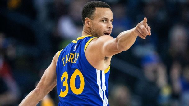 Steph Curry is unleashing impossible range