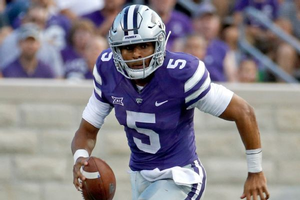 Former Kansas State QB Alex Delton says he's transferring to TCU