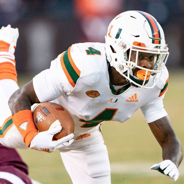 Miami WR Jeff Thomas decides against transferring after coaching change