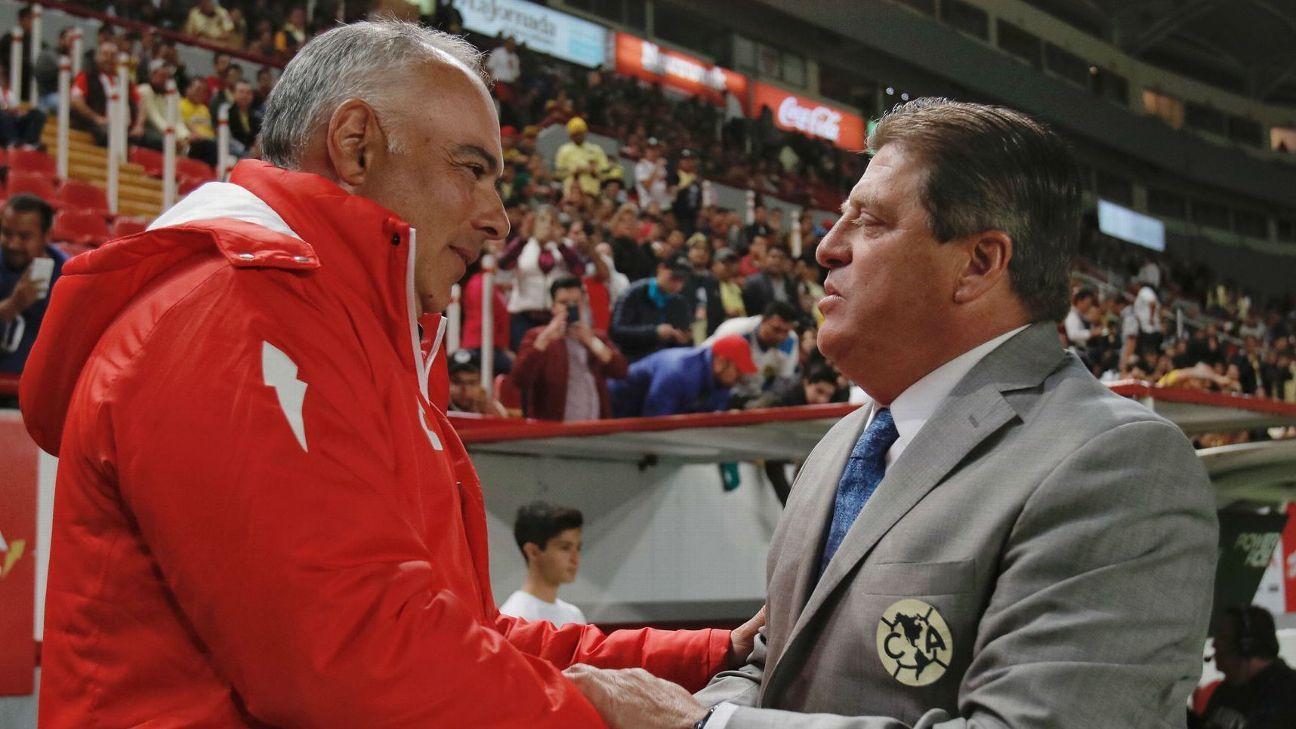 """Herrera: """"Mientras tenga a Cecilio Domínguez lo seguiré usando"""""""