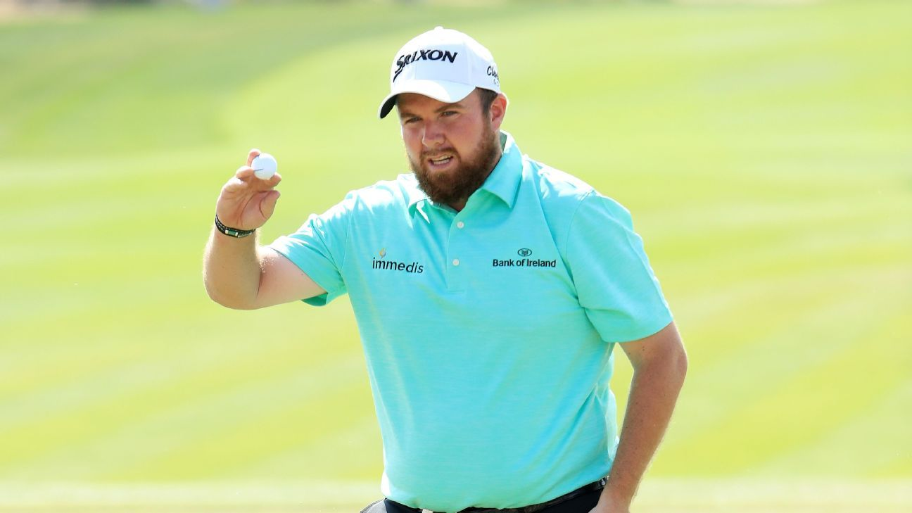 Shane Lowry bounces back from poor start to retain lead at Abu Dhabi Championship