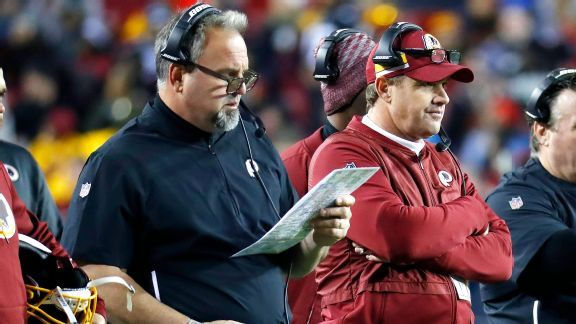 Greg Manusky is returning, but Redskins' need for change remains