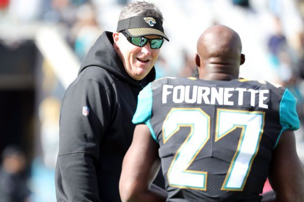 Jaguars' Doug Marrone 'had a good meeting' with RB Leonard Fournette