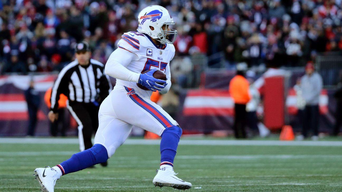 Bills recontratan al linebacker veterano Lorenzo Alexander
