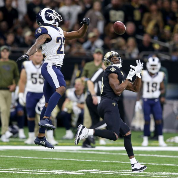 Rams' Marcus Peters, Saints' Sean Payton say barbs are in the past