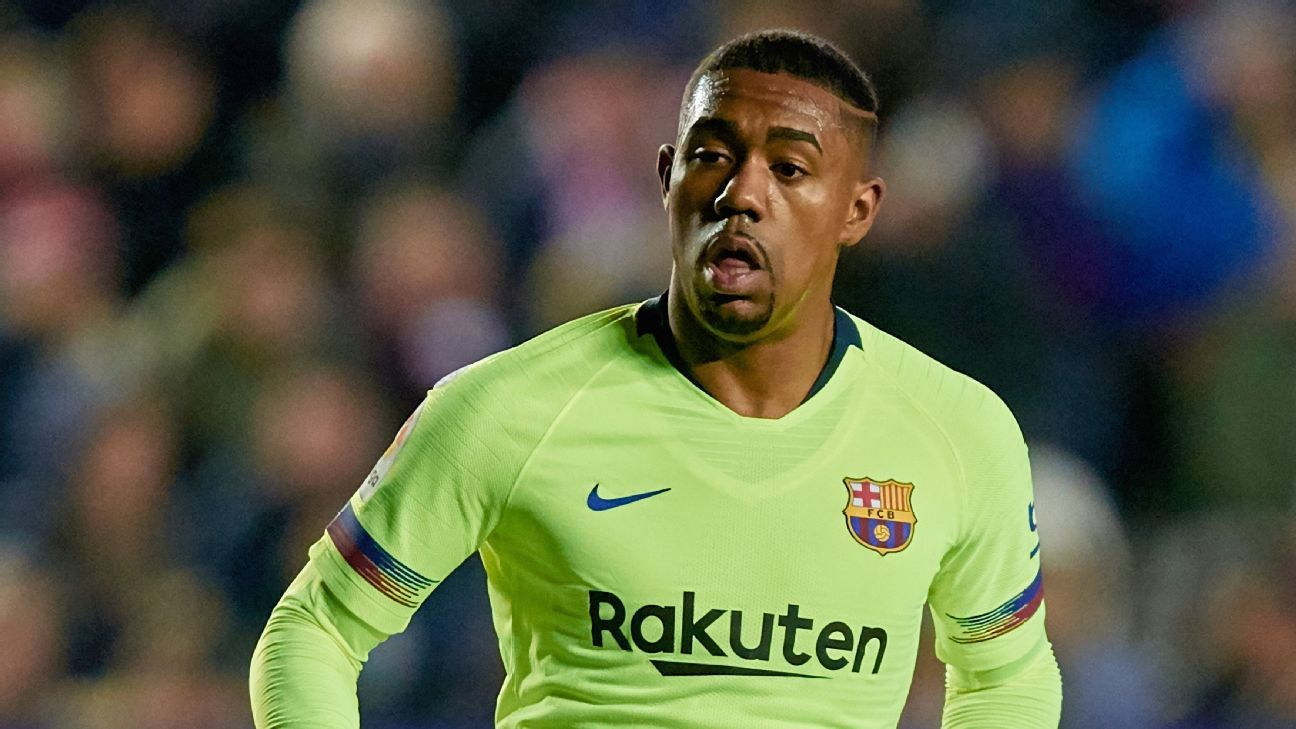 Barcelona's Malcom available in January for bids above €41m - sources