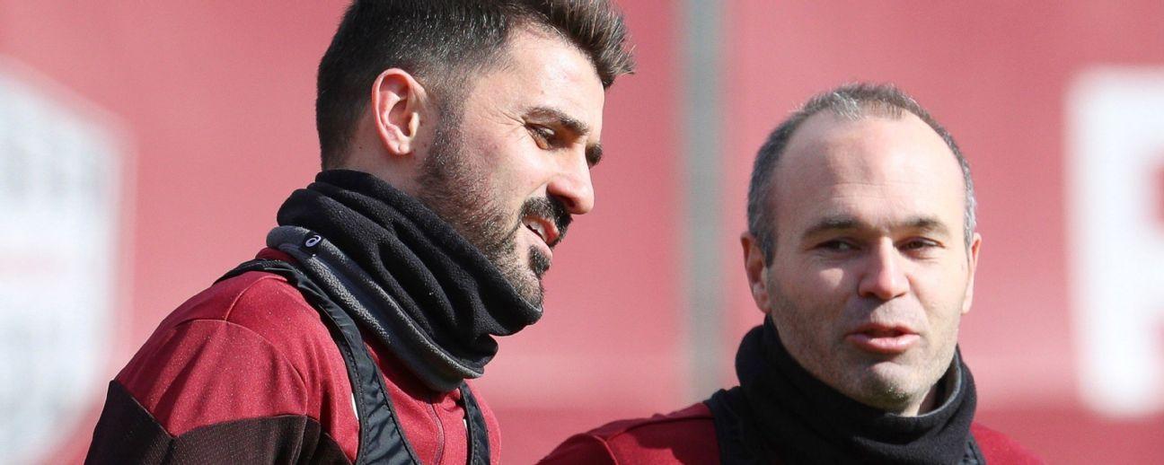 """""""Me hace ilusión enfrentar al Barça"""": Iniesta"""
