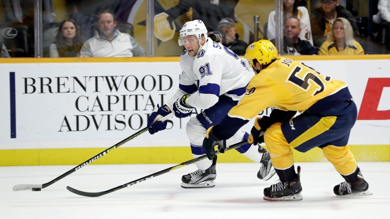 Lightning, Predators, Jets remain among the favorites to make the Stanley Cup Final