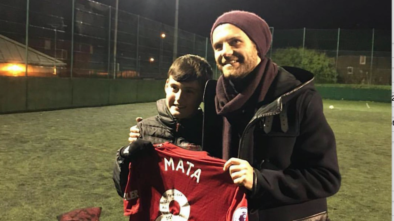 How Juan Mata helped my 12-year-old brother grieve our father's death