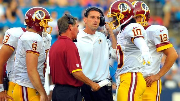 Mike Shanahan knew he had something special in his young assistants