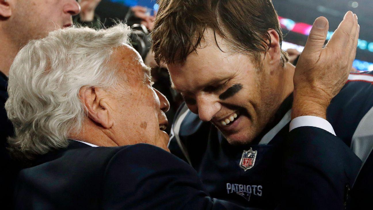 """""""El mejor jugador de todos los tiempos"""", dice Kraft de Brady"""