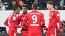 Bayern Munich beat Hoffenheim with Goretzka brace to trim Dortmund's lead