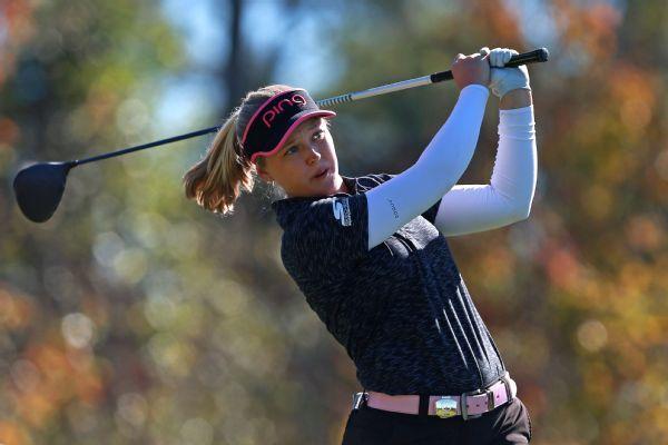 Brooke Henderson leads by 2 shots in LPGA opener in Florida