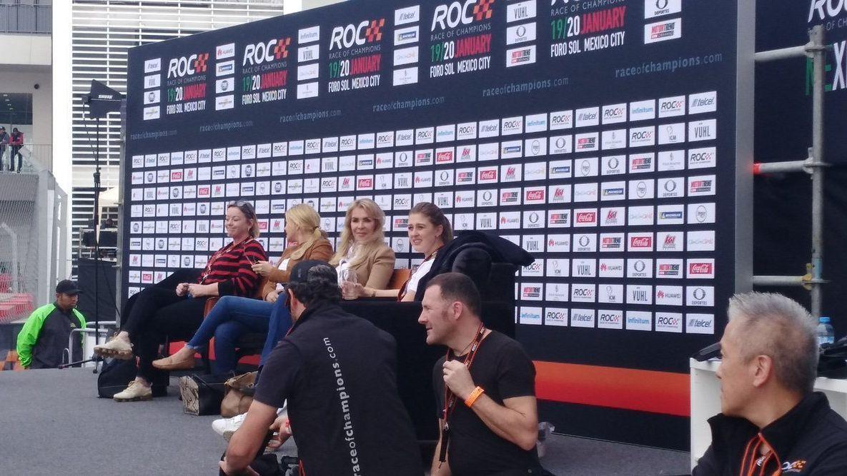 Familia de Michael Schumacher en México para la ROC