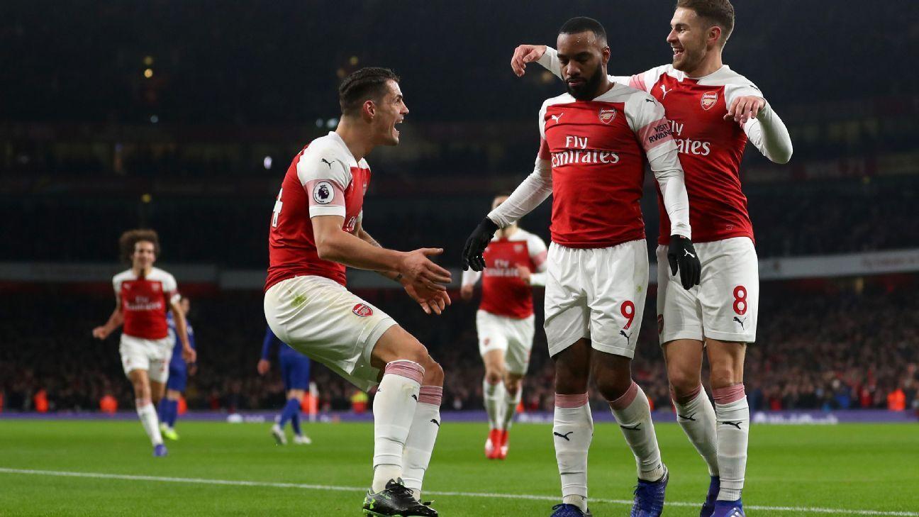 Arsenal desarma y remata al Chelsea