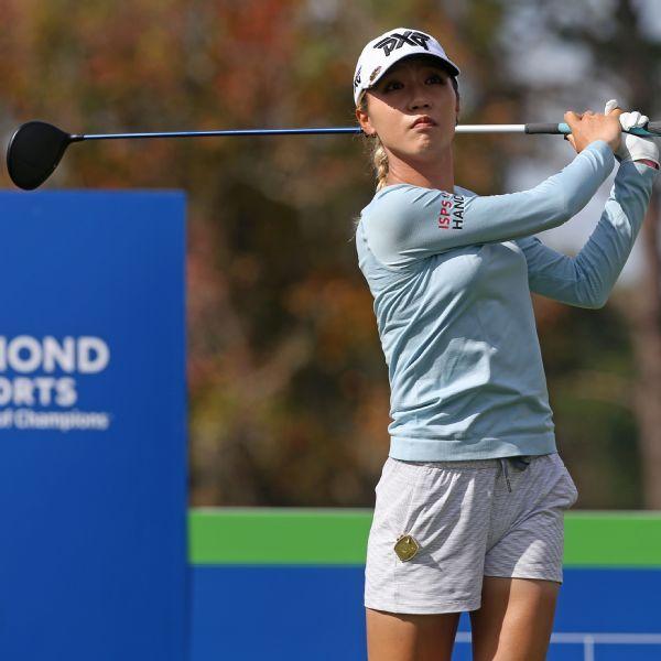 Lydia Ko, Eun-Hee Ji share lead at Diamond Resorts Tournament of Champions