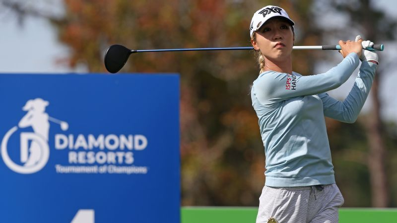 Ji, Ko share lead as celebrities help LPGA stars ease into season