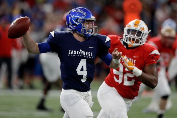 Brett Rypien, Easton Stick help West beat East in Shrine Game