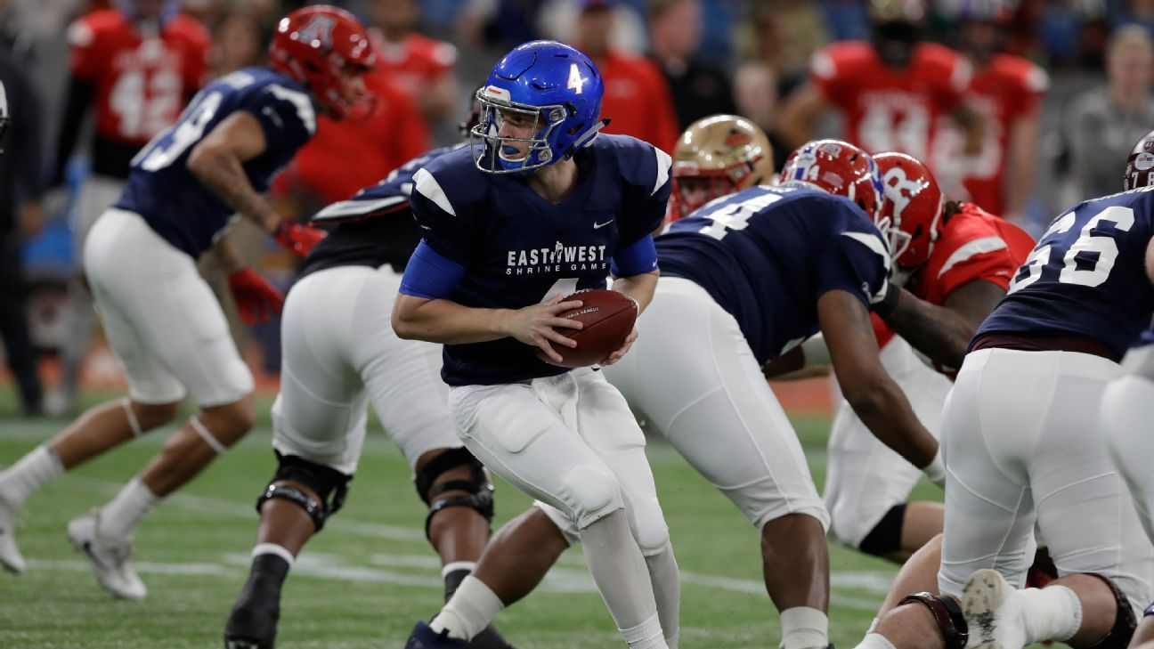 Brett Rypien impulsa triunfo de West sobre East en el Shrine Game
