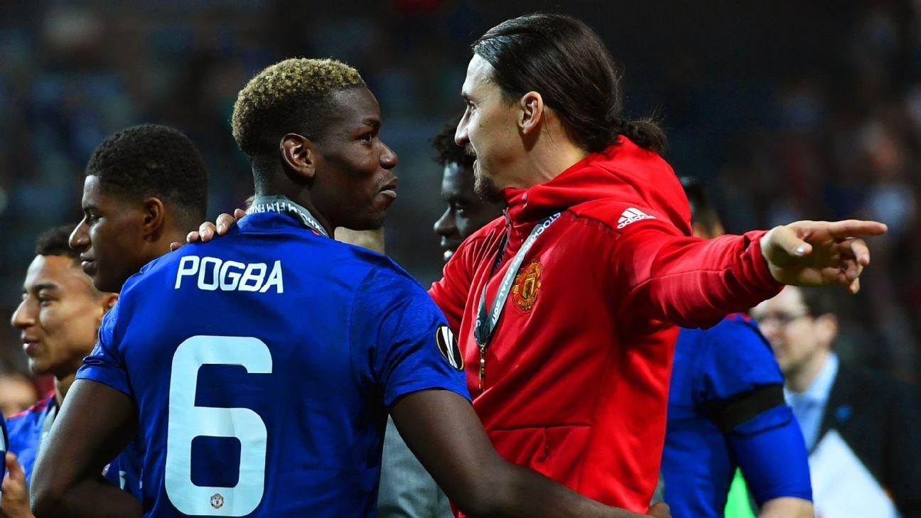 Ibrahimovic: Pogba está más libre y más feliz sin Mourinho