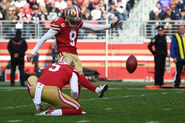 Kicker Gould ditches talks, wants off 49ers