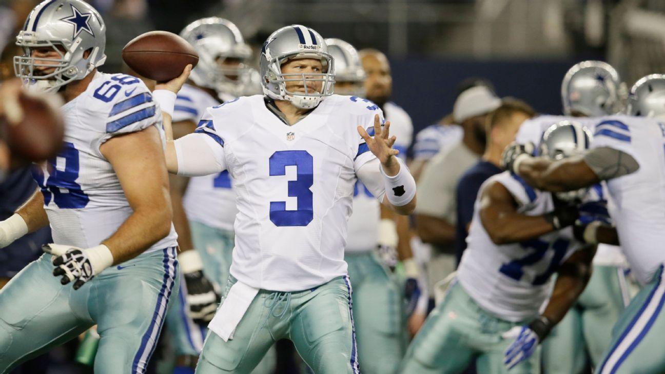 Jon Kitna volvería con los Cowboys como asistente en la ofensiva