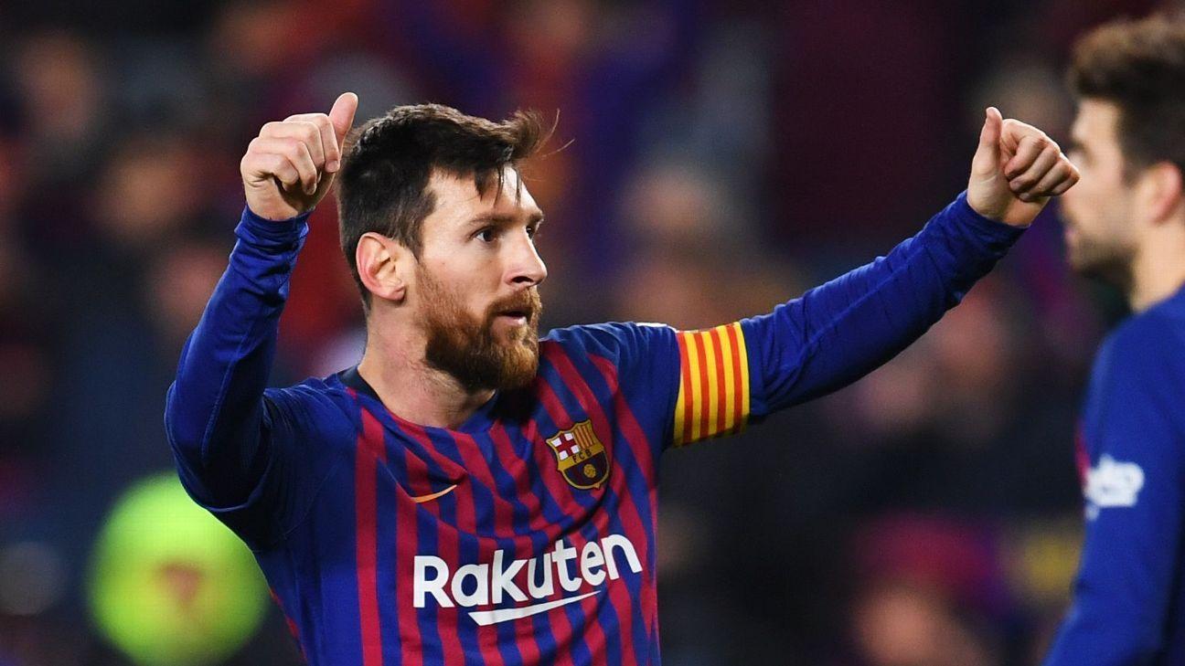 VAR confirma gol polêmico de Suárez, Messi também marca e Barcelona vence a 7ª consecutiva no Espanhol