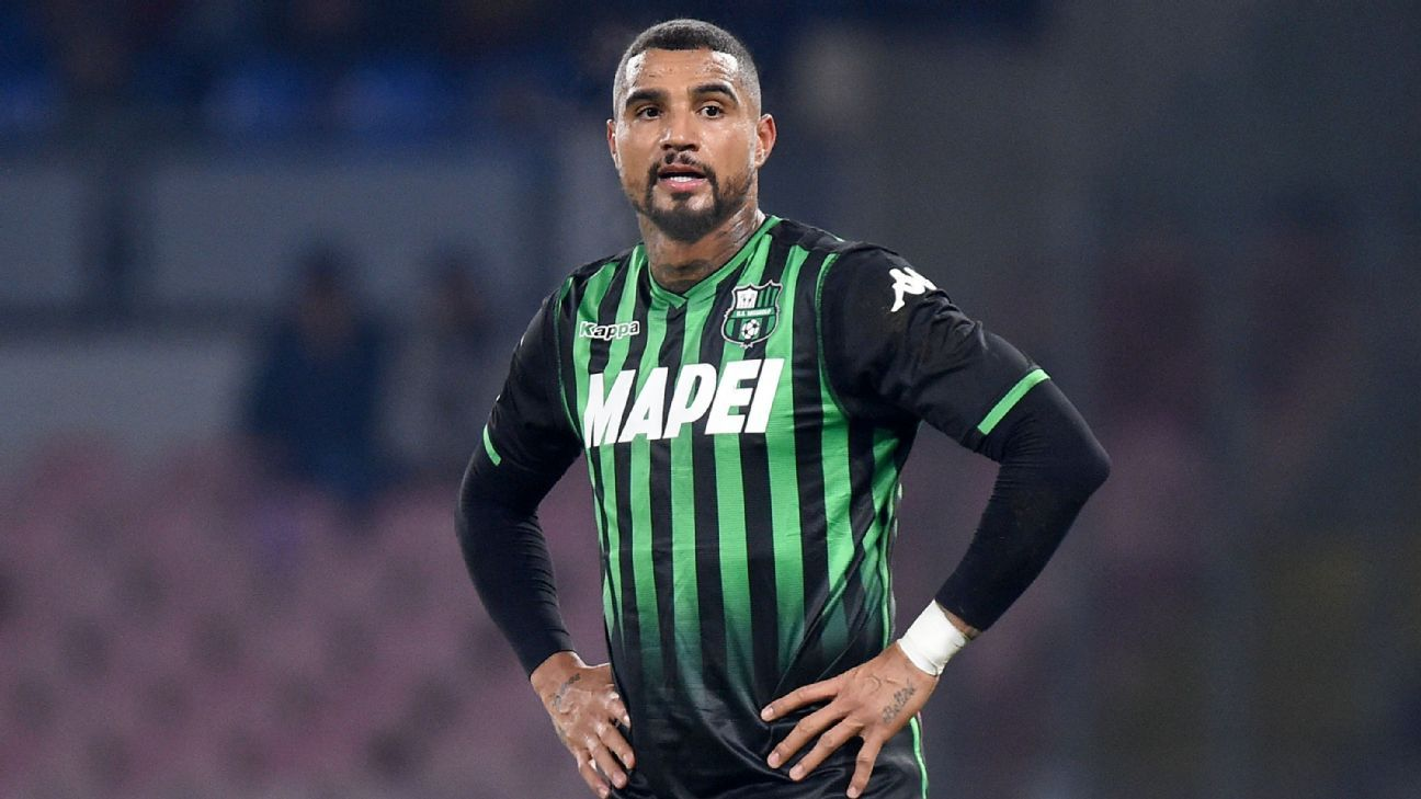 Barcelona sign Kevin-Prince Boateng on loan for rest of season
