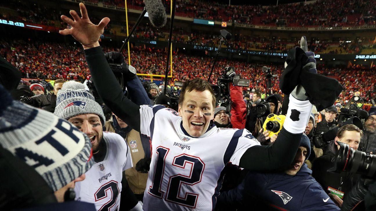 NFL: final da AFC tem Brady decisivo, 'tiroteio' com Chiefs e Império do New England Patriots
