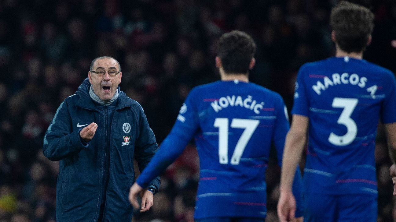Arsenal defeat exposes issues for Maurizio Sarri at Chelsea. PLUS: Real get revenge, Spurs' injury crisis