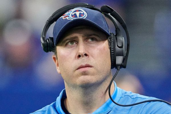 Titans promote Arthur Smith to be new offensive coordinator