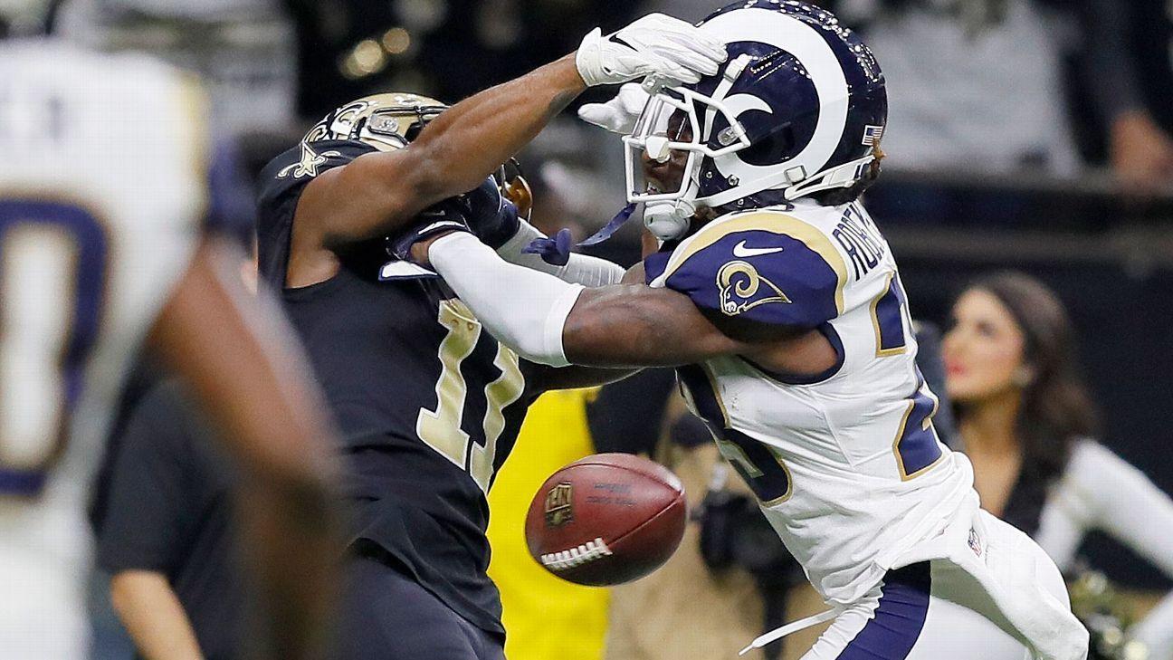 NFL: Jogador dos Saints sugere 'tapetão' por arbitragem polêmica contra os Rams