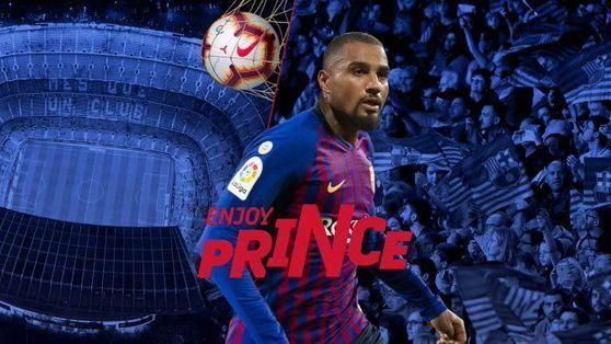 Barcelona oficializa llegada de Kevin-Prince Boateng