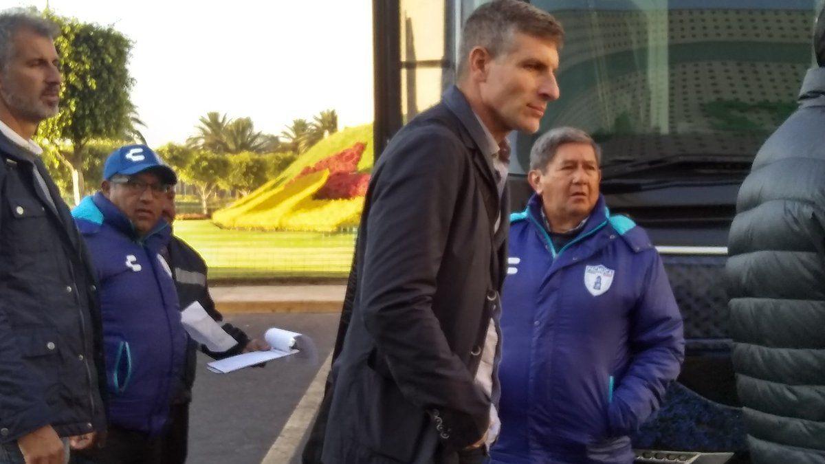 Palermo llegó y reconoció que Martínez buscó llevarlo al Everton de Chile