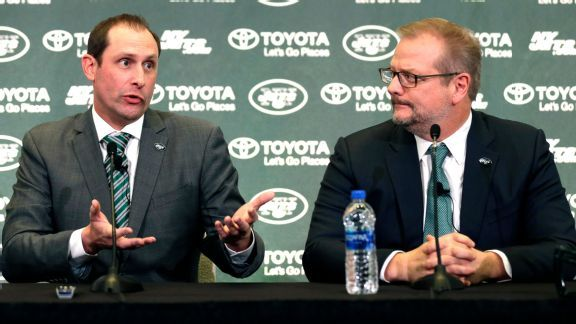 Offseason challenge: Jets GM must help Sam Darnold and Adam Gase