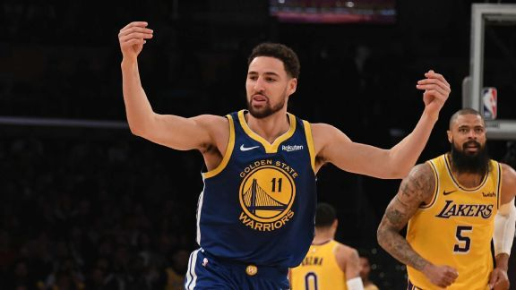Fantasy NBA Daily Notes: Klay's hot hand