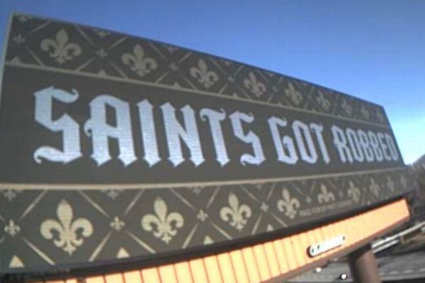 Angry New Orleans Saints fans file lawsuits, put up billboards in Atlanta