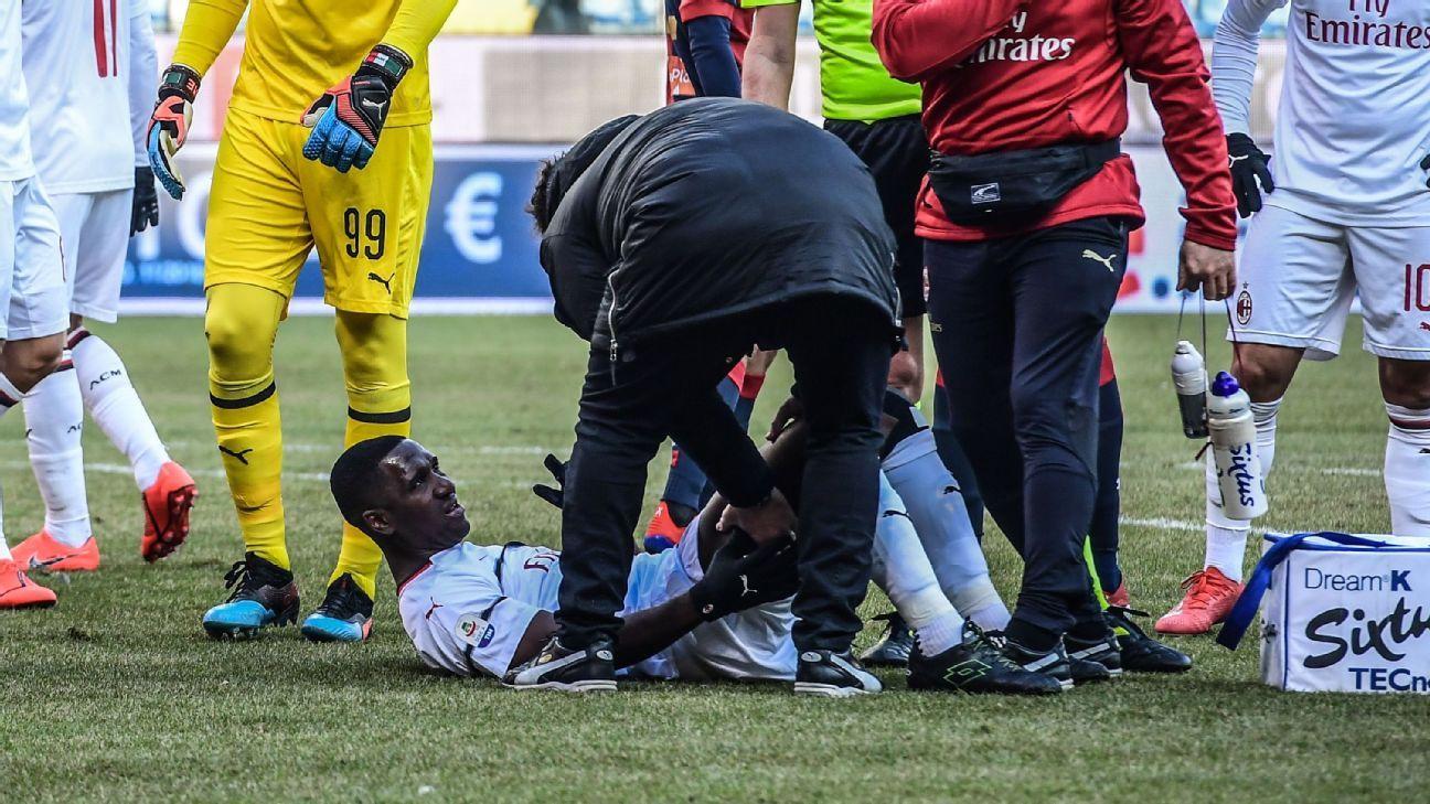 Cristian Zapata, mínimo dos semanas de baja por lesión en Milan