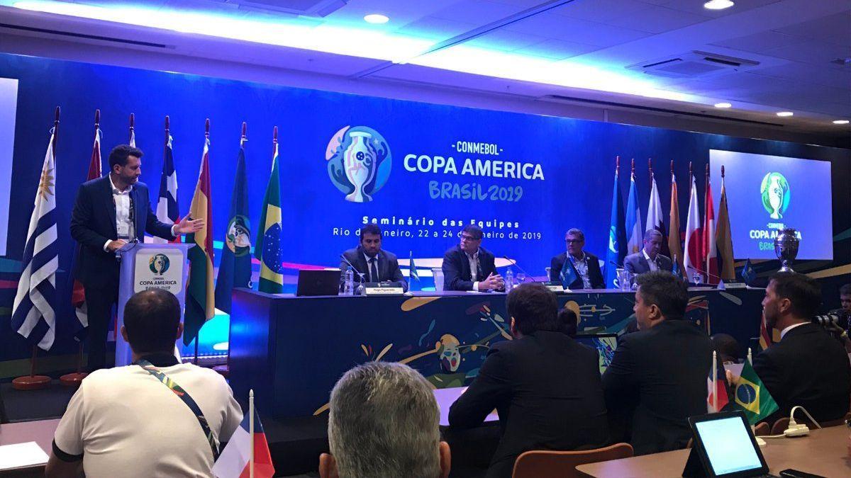 Estrellas como Ronaldinho y Cafú estarán en el sorteo de Copa América de Brasil 2019