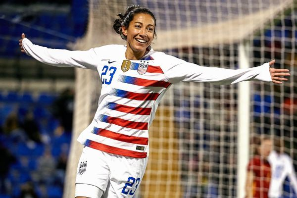 Christen Press scores as U.S. bounces back with win over Spain
